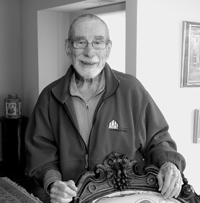 Dick Moose, a co-founder of At Home Alexandria and 2015 Living Legends nominee, died Sept. 25 at the age of 83.