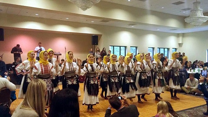 SerbFest DC included traditional Serbian music and dancing.