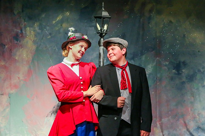 """Mount Vernon Community Children's Theatre will give six performances of the classic Disney musical """"Mary Poppins."""" On Oct. 30, Nov. 6, and Nov. 7, there will be a 7:30 p.m. performance; a 1:30 p.m. performance on Oct. 31, and 3 p.m. performances on Nov. 1 and Nov. 8. The play will performed on the Bryant Alternative High School stage, 2709 Popkins Lane. Tickets are $12 and are available at the door and online at www.mvcct.org."""