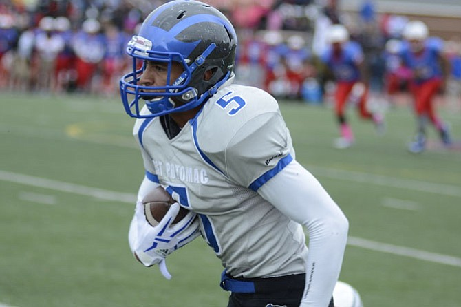 West Potomac receiver Brandan Lisenby had seven receptions for 143 yards and two touchdowns against T.C. Williams on Oct. 24.