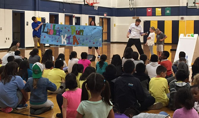 Youths gather at Carver Community Center to celebrate afterschool programs.