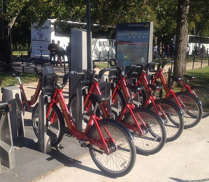 The Reston area has many bicycle enthusiasts, and over 1,000 Fairfax County residents are members of Capital Bikeshare. Fairfax County's transportation department is contracting with Capital Bikeshare to install thirteen stations at locations in Reston.
