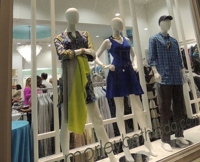 Morley is a new boutique in Bethesda.