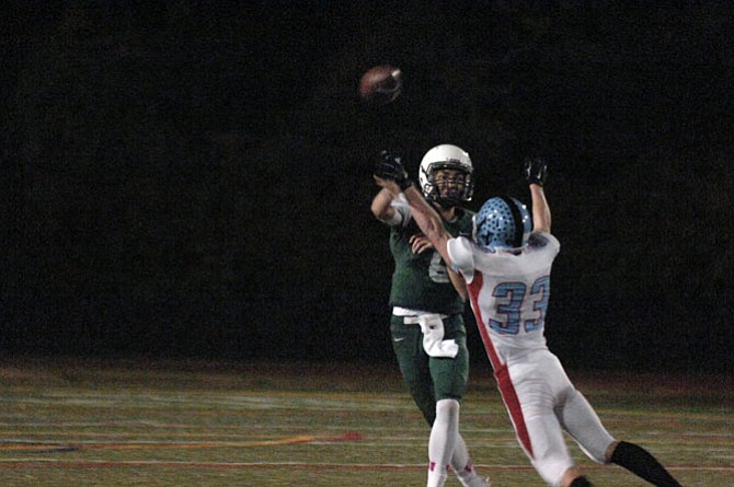 Sophomore quarterback Colton Poythress and the Wakefield football team will host Potomac Falls at 7 p.m. on Friday, Nov. 13 in the 5A North region playoffs.