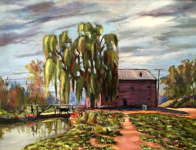 """Funk's Mill by Dick Neff is one of the exhibits in ""Memories"" by the Vienna Arts Society. The show will run from Nov. 3-28 at the Vienna Art Center."