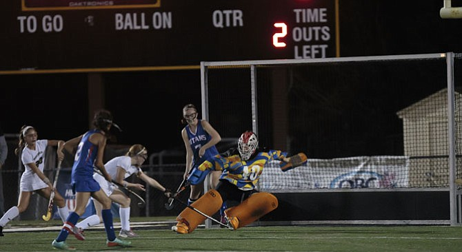 Goalkeeper Sarah Leckman and the T.C. Williams field hockey team are headed to the state tournament.