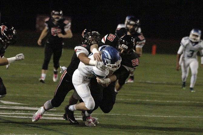 The Madison football team allowed 67 points in seven Conference 6 games this season.
