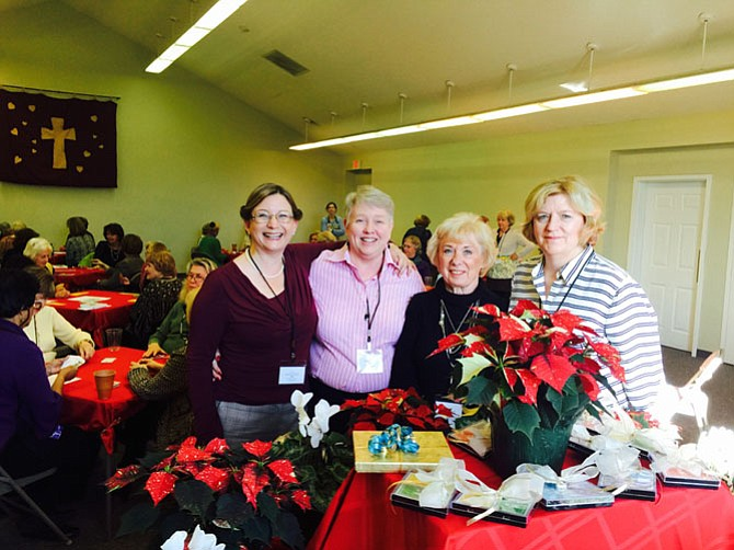 Allison Granstedt, Karen Magley, Barbara Gwizdz and Holly Kuga organized the Bridge Jamboree. Judy Mahanes and Laura Bumpus are not pictured.