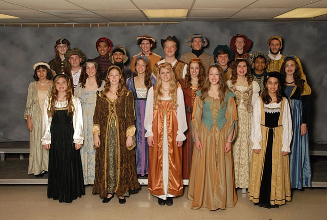 Langley High School's award-winning choirs, including the Madrigals and the Women's Chamber Choir, present a fun-filled, educational, Renaissance-style dining and musical event on Dec. 4 and 5.