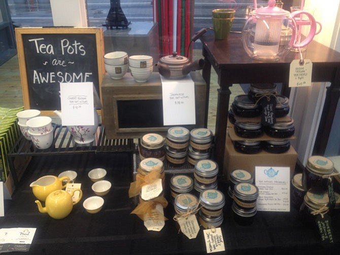 The Pearl Fine Teas pop up shop at the Wiehle-Reston East Metro Station offers a variety of tea and teaware. Most of the vendors are open from 3 to 7 p.m., Monday through Friday until Dec. 24.