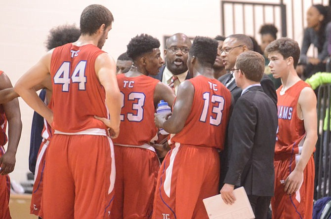 Bryan Hill returns for his second season as T.C. Williams head basketball coach.