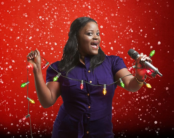 "Singer, and Broadway performer, Nova Y. Payton has starred in several feature at Signature Theatre, including ""Dreamgirls"" and ""Hairspray."" Through Jan. 24, Payton will be giving Holiday performances featuring classic like ""This Christmas,"" ""Jingle Bell Rock,"" and ""I Saw Mommy Kissing Santa Claus."""