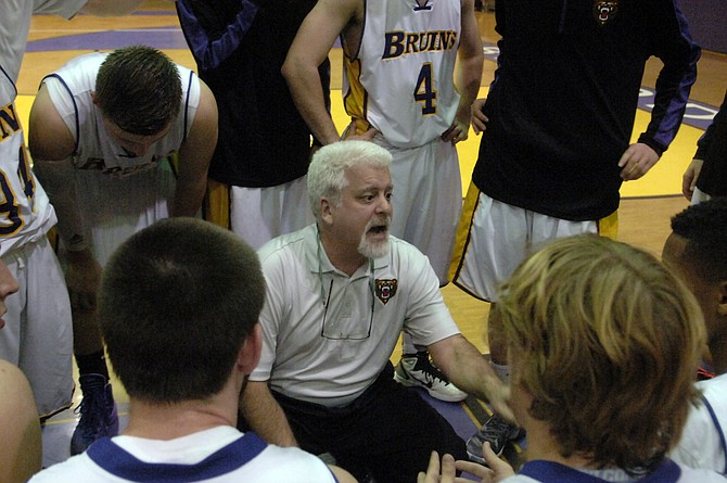 Head coach Brian Metress and the Lake Braddock boys' basketball team are off to a 4-0 start.