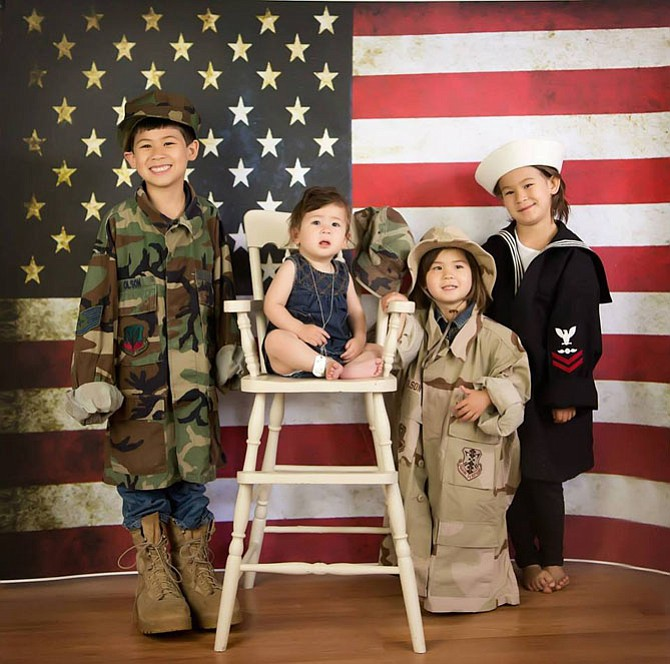 Military children receive grants from McLean-based Our Military Kids that allow them to pursue their needs and interests.