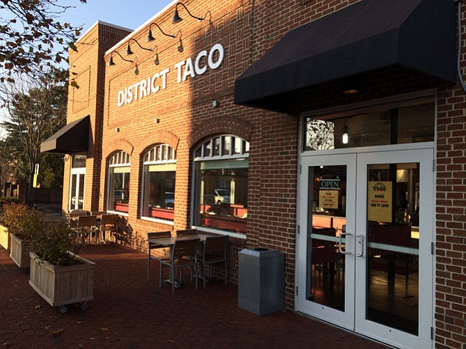 For breakfast, lunch, and dinner, District Taco on Washington Street has a burrito waiting in the wings.