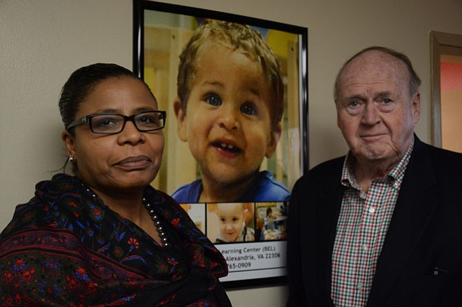 United Community Ministries Executive Director Nichelle Mitchem (left) and recently installed Board Chair Charles O'Connor (right) are bringing transformative changes to the organization.