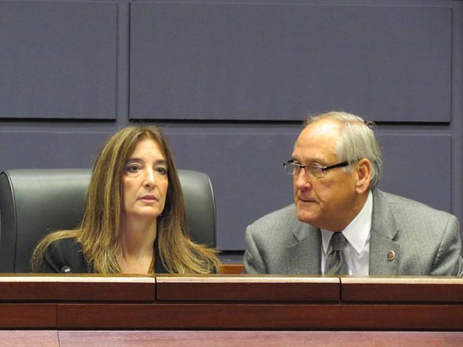 Del. Eileen Filler Corn (D-41) and state Sen. Dave Marsden (D-37).