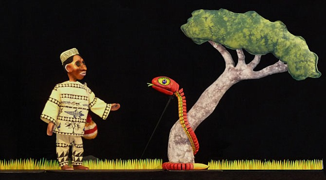 "Crabgrass Puppets will present ""African Adventure Tales."""