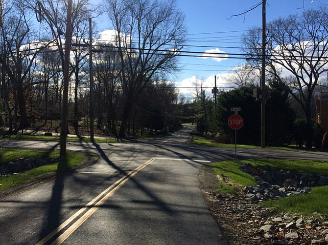 The most effective improvements to the intersection of Old Dominion Drive and Bellview Road included removing overgrown vegetation and regrading the corners of the intersection to improve visibility.