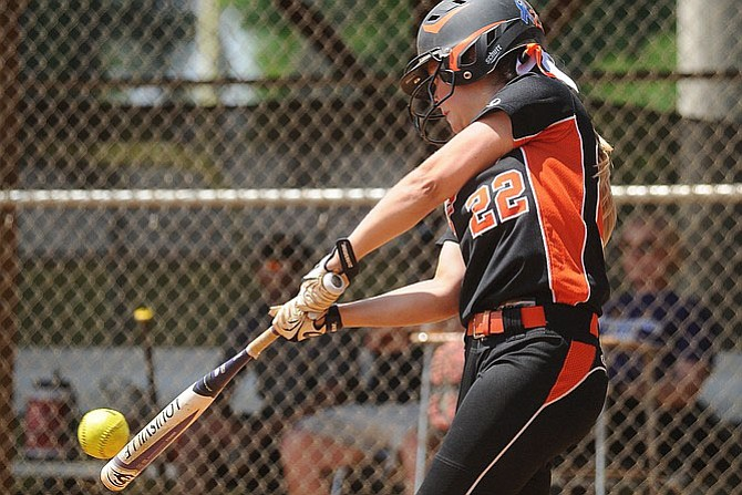 Hayfield softball player Brittany Wieland was selected first-team All-Conference 6 and second-team All-6A North region as a second baseman in 2015.