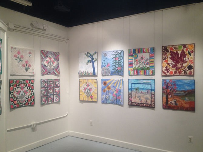 ArtSpace Herndon, an art gallery located at downtown Herndon, has a quilt exhibit on display until Feb. 14. Curated tours of the show by Center Street Cotton Collective members may be arranged by special request.