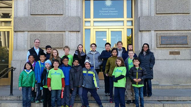 Classes with the Ideaventions Academy for Mathematics and Science at Reston had several field trips, including a visit to the Smithsonian Museum of Natural History in Washington, D.C. In February the sixth/seventh grade class will visit the Library of Congress.