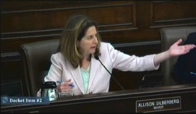 Mayor Allison Silberberg