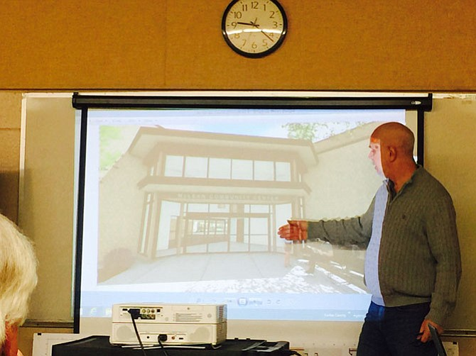 Many details of the McLean Community Center renovation remain to be determined. Dave Hallett, of the Lukmire Partnership, showed design plans to the McLean Community Center's Capital Facilities and Finance committees.