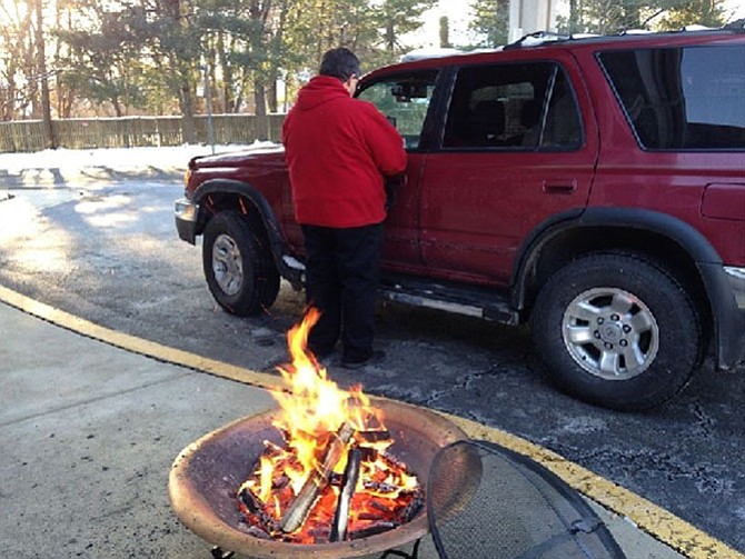 A drive-thru service that quickly provides ashes and prayer to Christian observers of Ash Wednesday.