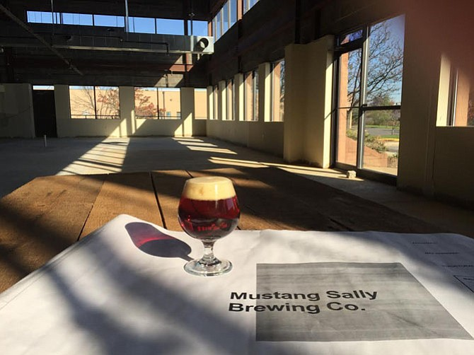 The Mustang Sally tasting room