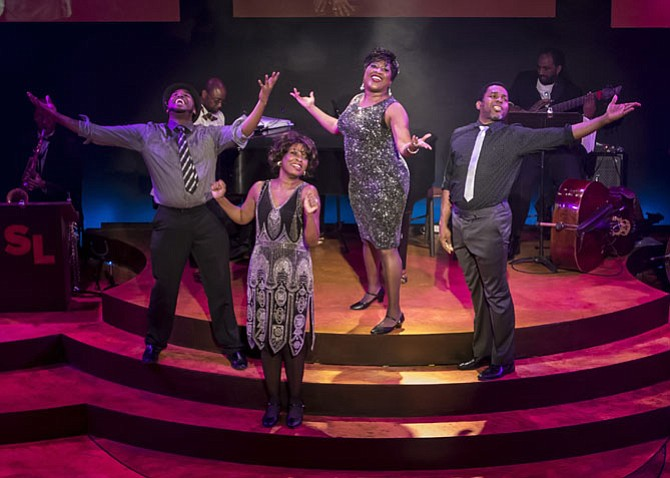 Shake Loose, an original musical starring Rayshun LaMarr, Lori Williams, Roz White and Anthony Manough, is playing now through March 6 at MetroStage.