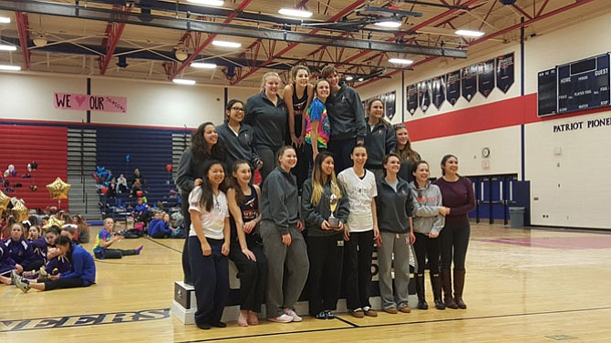 The West Springfield gymnastics team earned a state berth with a runner-up finish at the 6A North regional meet on Feb. 13 at Patriot High School.