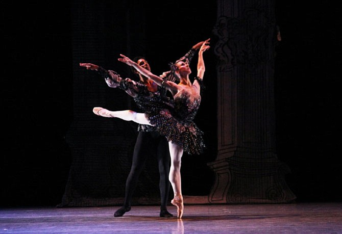 Richmond Ballet, Rachmaninoff Rhapsody by Stoner Winslett.