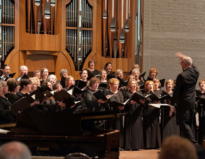 The Reston Chorale and artistic director David B. Lang will present Choral Splendor II: Music of France at 4 p.m. on Sunday, March 13 at Saint Luke Catholic Church in McLean.