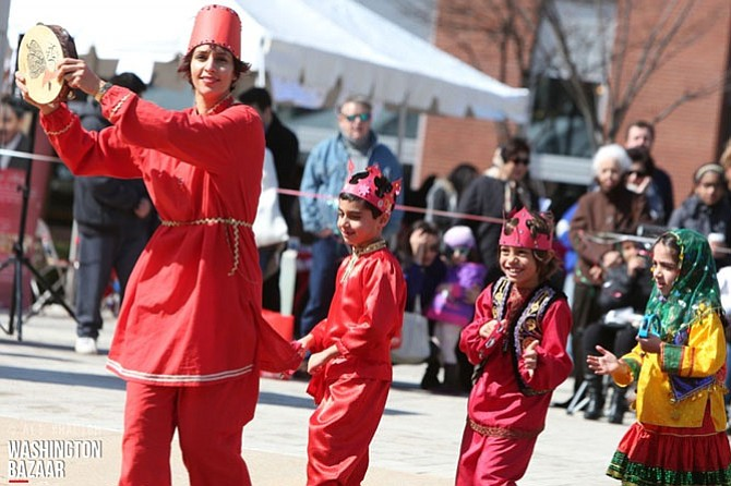The Nowruz Festival celebrating the Persian New Year will be held on Sunday, March 12, from 10 a.m. to 6 p.m. at Tysons Corner Center.