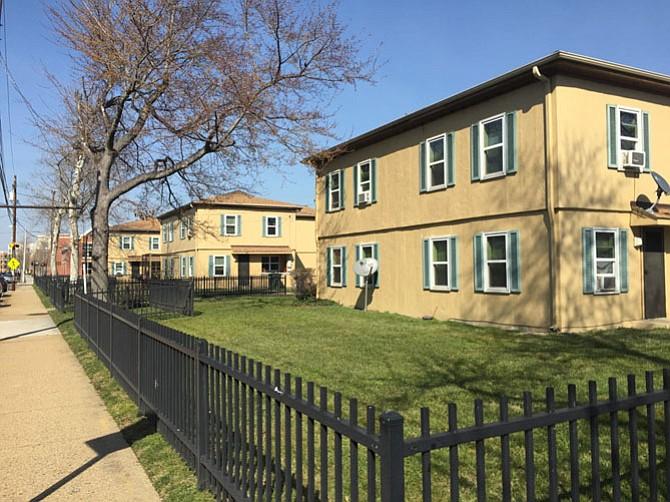 Ramsey Homes along N. Patrick Street.