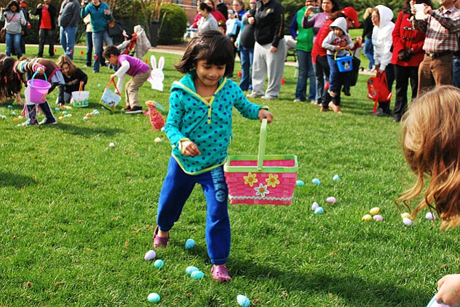 Herndon's traditional Easter Egg Hunt will be on Saturday, March 26 in Lynn Street.