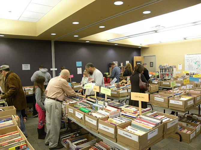 The Burke Centre Library book sale is organized by the Friends of the Burke Centre Library. Volunteers collected some 10,000 donations for the sale that ran from Thursday, March 17 till Sunday, March 20.