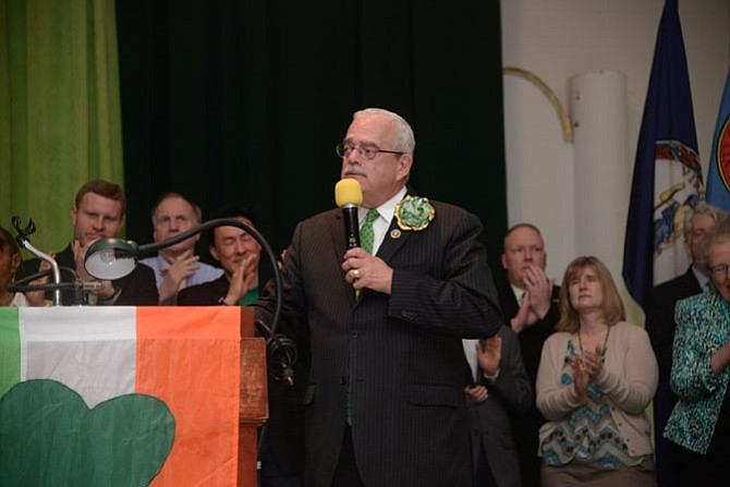 U.S. Rep.  Gerry Connolly officially announces his re-election campaign.