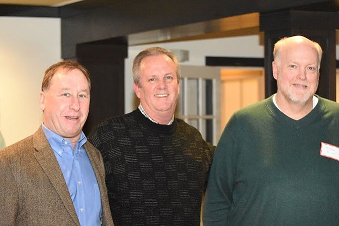 Executive Board of Directors Jeff Stein, Vice President; Gary Flather, President; Bryan Hunt, Treasurer; (not pictured Pete Cuomo, Secretary).