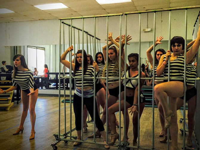 The ladies of the cell block tango.