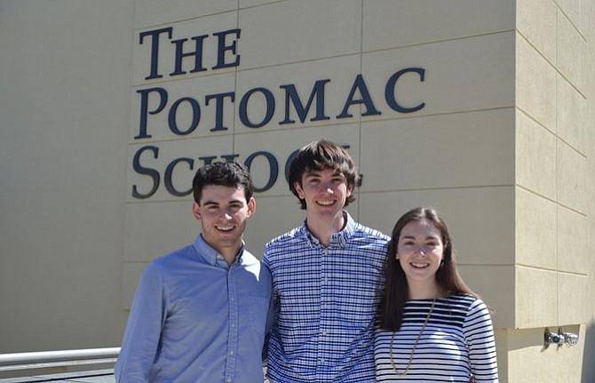 From left: Spencer Perkins, Matt Spencer and Madeline Dubelier