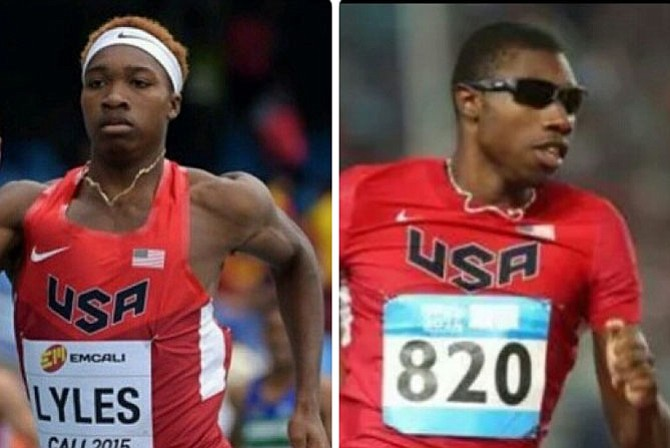 Noah and Josephus Lyles are hoping to compete in the 2016 Olympic Games in Rio de Janeiro this summer.