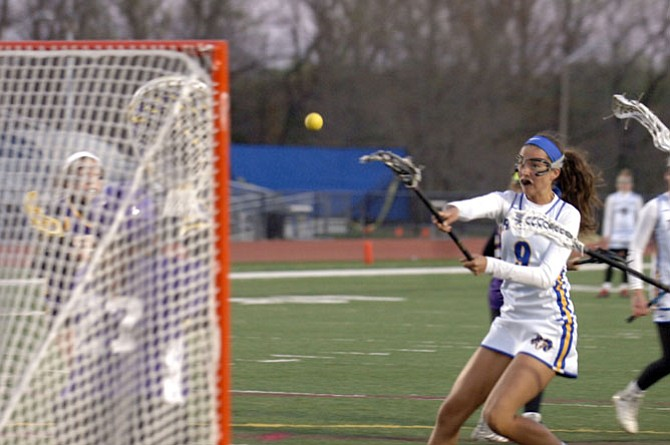 Robinson junior Katie Checkosky finished with six goals and two assists against Lake Braddock on Tuesday.