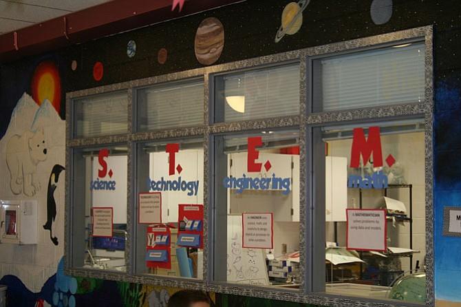 Providence Elementary School's STEM Lab.