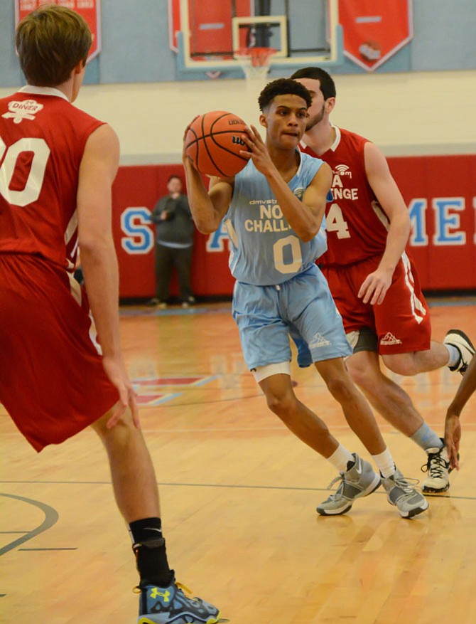 Wakefield senior Eric Martin finished with eight points for the Fairfax South All-Stars.