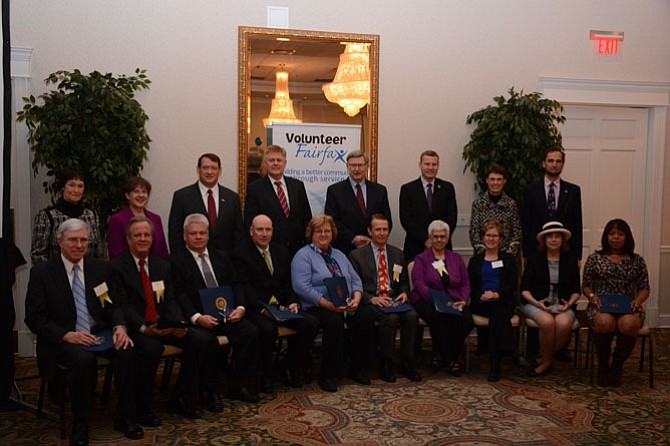 Fairfax County Supervisors named their 2015 Community Champions at the 24th Annual Fairfax County Volunteer Service Awards hosted by Volunteer Fairfax.