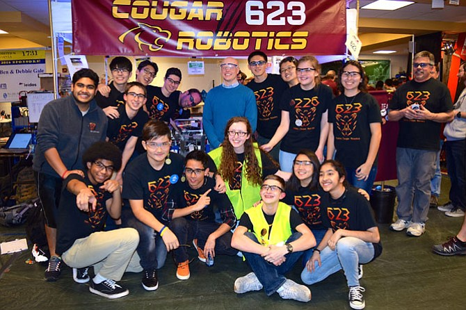 Oakton robotics team advances to world competition.