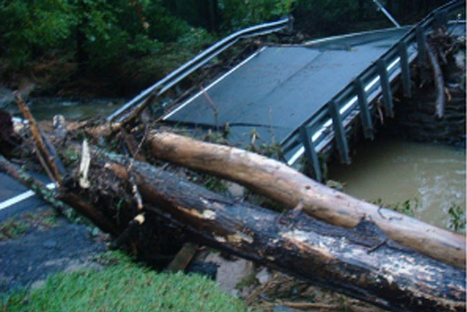Beach Mill Bridge Collapse: Residents gave examples of property, ponds and local bridges being washed away by stormwater, as well as examples of deterioration of local roadways.