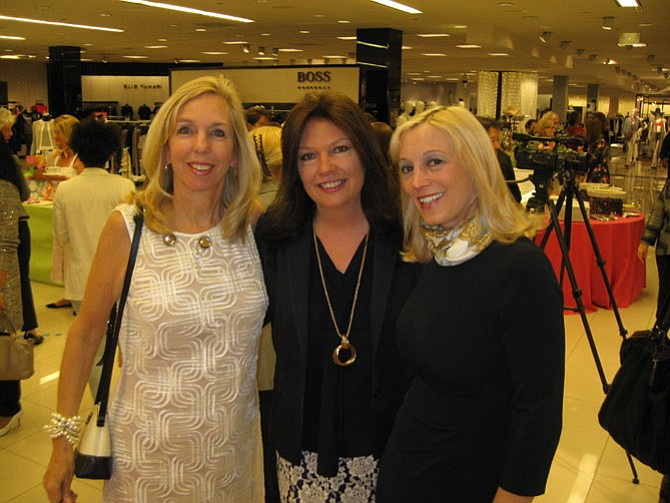 GFFN members Bootsie Humensky, Sally Andrew Pyne, and Roz Drayer.